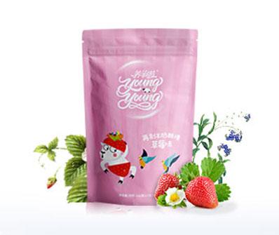 再制羊奶酪棒草莓味102g/袋