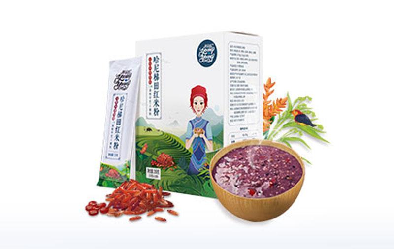 养羊啦哈尼梯田红米粉250g/盒
