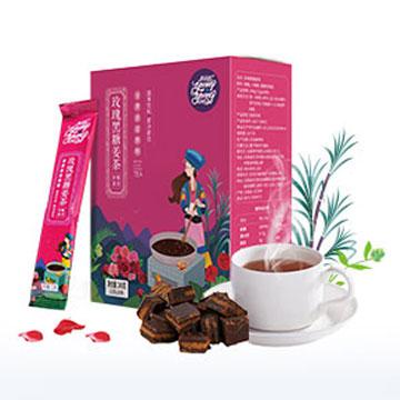 养羊啦玫瑰黑糖姜茶240g/盒