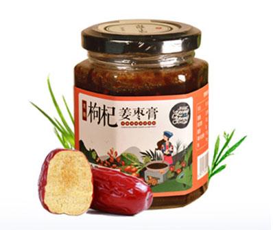 养羊啦黑糖枸杞姜枣膏230g/瓶