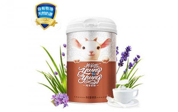 纯羊奶粉800g罐装