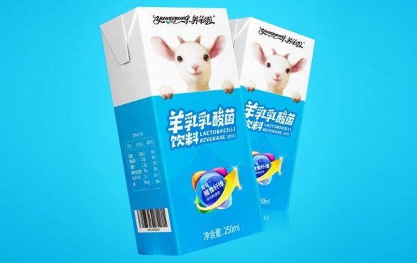羊乳乳酸菌饮料250ml/盒