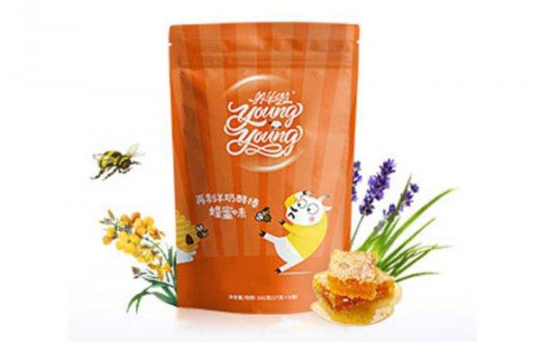 再制羊奶酪棒蜂蜜味102g/袋